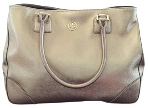 Tory Burch Satchel in Metallic gold