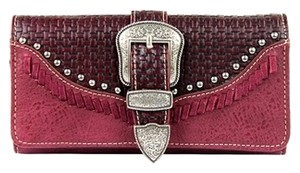 Montana West TR31-W002 Trinity Ranch Buckle Collection Wallet
