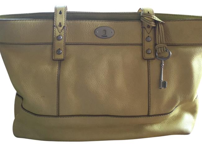 Item - Yellow Leather Tote