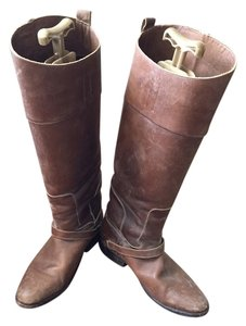 Golden Goose Deluxe Brand Tan And Brown Boots