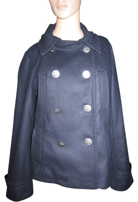 Gap Mid- Length Classic Preppy Nautical Pea Coat