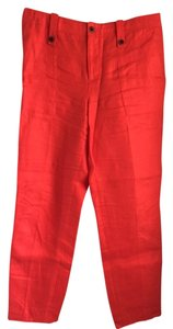 J.Crew Straight Pants Poppy