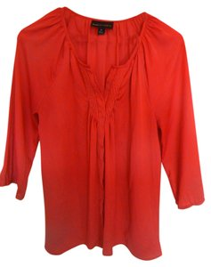 Dana Buchman Bohemian Summer Coral Top Watermelon