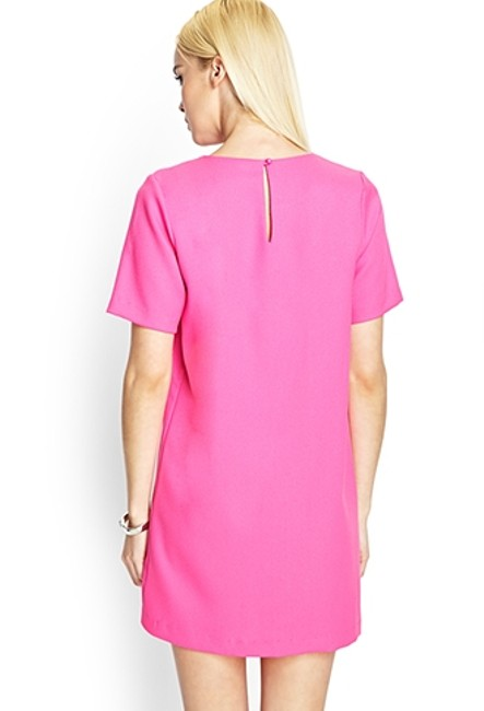 Forever 21 short dress Hot Pink on Tradesy