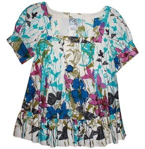 Anthropologie Top Multi- colored