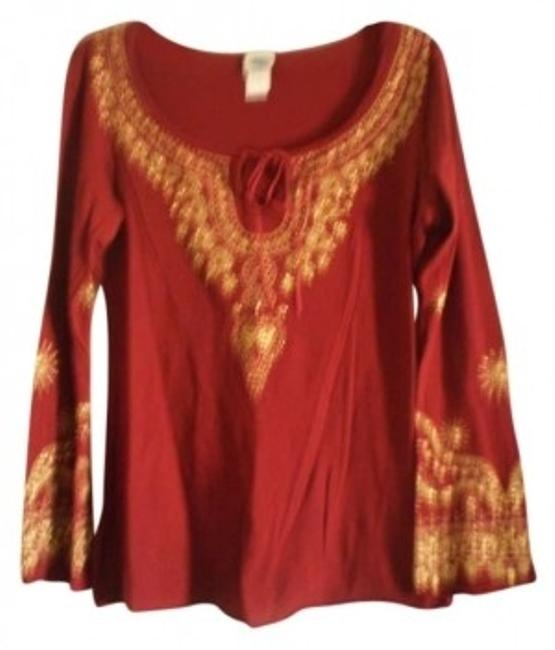 Preload https://item4.tradesy.com/images/burgundy-blouse-size-14-l-146248-0-0.jpg?width=400&height=650