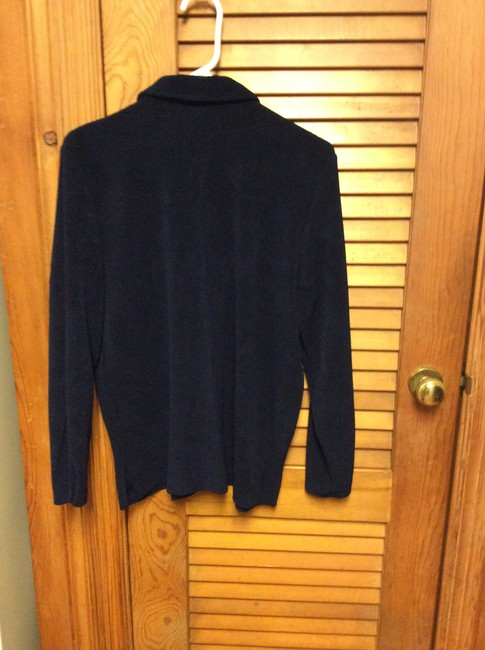 Studio Works Top Navy Blue