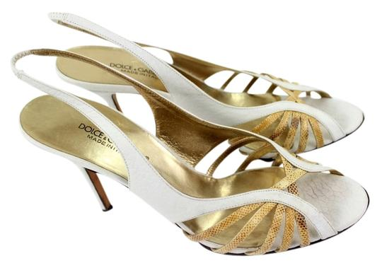 Preload https://item4.tradesy.com/images/dolce-and-gabbana-white-and-yellow-sandals-1462503-0-0.jpg?width=440&height=440
