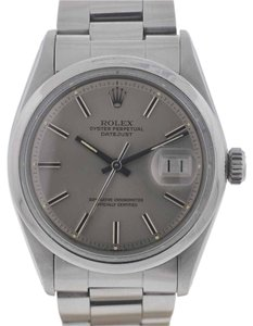 Rolex Rolex 1600 Datejust Stainless Steel Silver Dial Automatic Watch 4 Million Serial