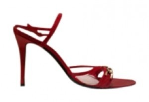Escada Red patent leather Sandals