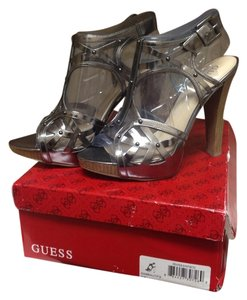 Guess Pewter Pumps