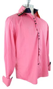 Vittorio Button Down Shirt Pink