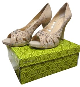 Gianni Bini Sierra Tan Pumps