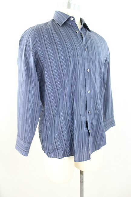 Boss By Hugo Boss Button Down Shirt Blue
