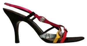 Sonia Rykiel Multicolor satin Sandals