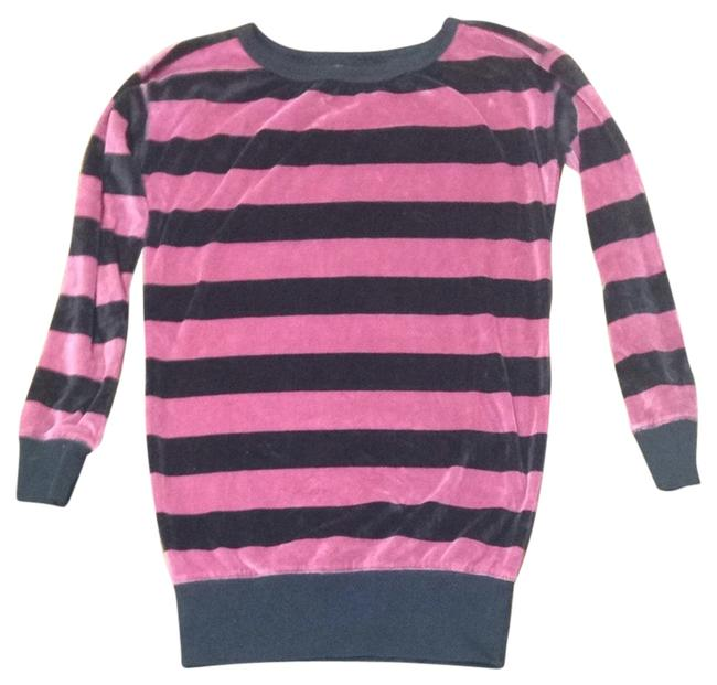 Preload https://item2.tradesy.com/images/juicy-couture-tunic-rose-pink-and-black-1462591-0-0.jpg?width=400&height=650
