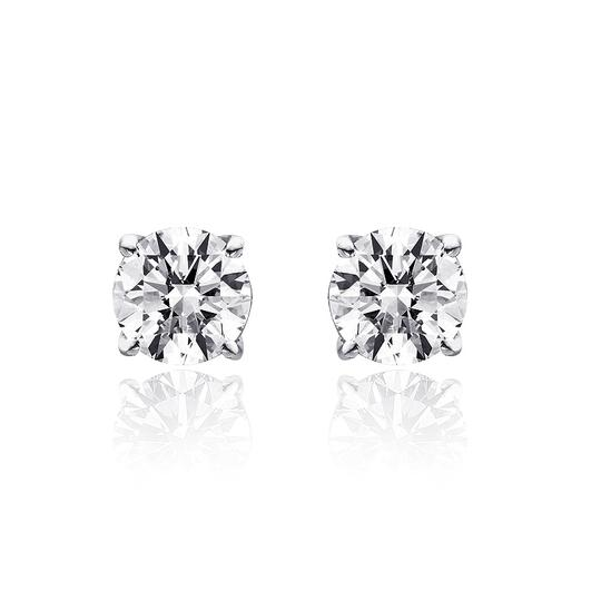 Preload https://img-static.tradesy.com/item/14627074/avital-and-co-jewelry-14k-white-gold-110-ct-round-brilliant-cut-diamond-gsi2-stud-earrings-0-0-540-540.jpg