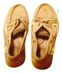 Sperry Tan Mules