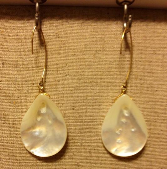 none Mother Of Pearl Drop Earrings