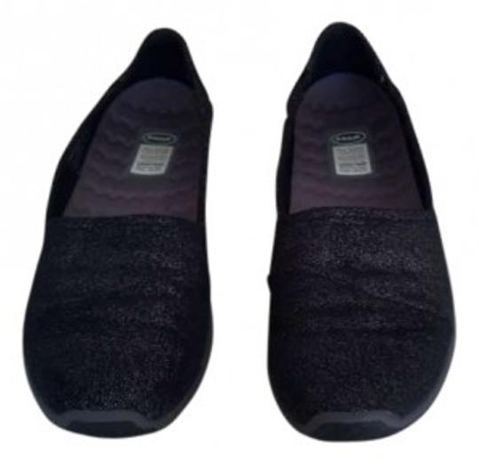 Preload https://item2.tradesy.com/images/dr-scholl-s-black-with-silver-threads-flats-size-us-7-146276-0-0.jpg?width=440&height=440