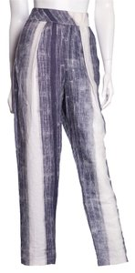 Raquel Allegra Relaxed Pants Blue & White