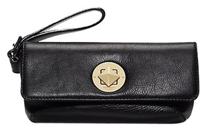 Kate Spade Leather Large Wristlet in Black