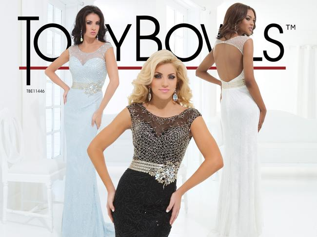Tony Bowls New Prom Tbe11446 Size 12 Dress