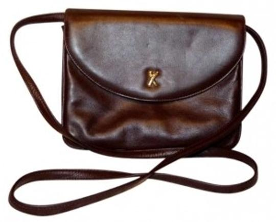 Preload https://item5.tradesy.com/images/paloma-picasso-vintage-purse-italy-brown-olive-leather-cross-body-bag-146284-0-0.jpg?width=440&height=440