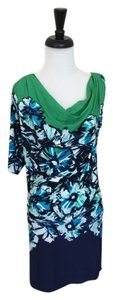 BCBGMAXAZRIA short dress Blue Bcbg Max Azria Jersey on Tradesy