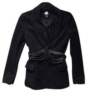 Central Park West Black Blazer