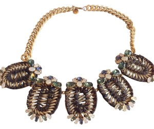 Tory Burch TORY BURCH NWT FORMOSA STATEMENT NECKLACE