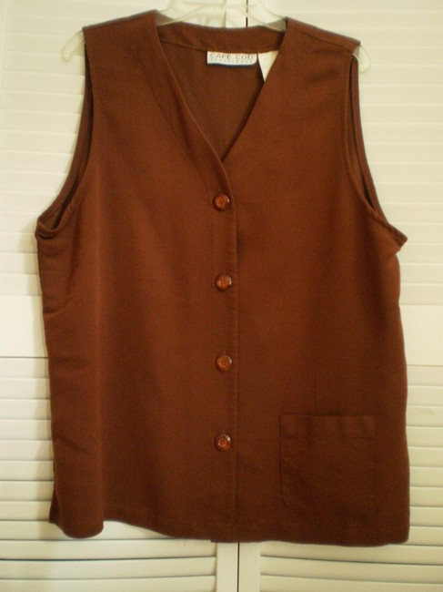 Preload https://item4.tradesy.com/images/brown-like-new-vest-tunic-size-18-xl-plus-0x-146308-0-0.jpg?width=400&height=650