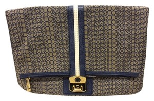 Marc by Marc Jacobs Oversize Sporty navy/white Clutch