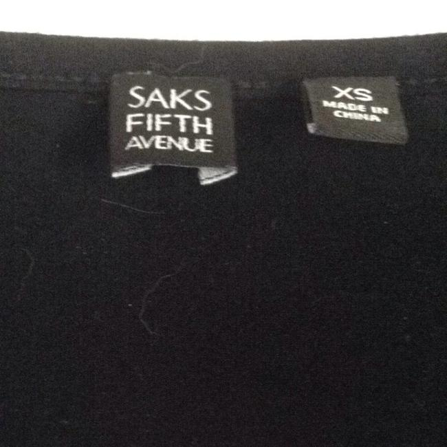 Saks Fifth Avenue T Shirt Black