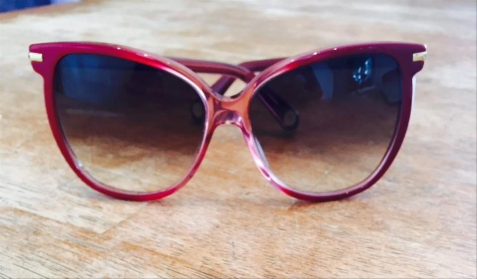 1e792df9c841 Marc Jacobs Red Limited Edition Solbriller Sunglasses - Tradesy