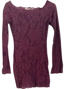 Victoria's Secret Top Plum