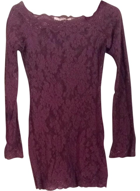 Preload https://item1.tradesy.com/images/victoria-s-secret-plum-night-out-top-size-4-s-1463275-0-0.jpg?width=400&height=650