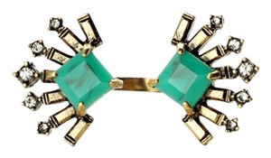 Other Emerald Green Crystal Fan Ring