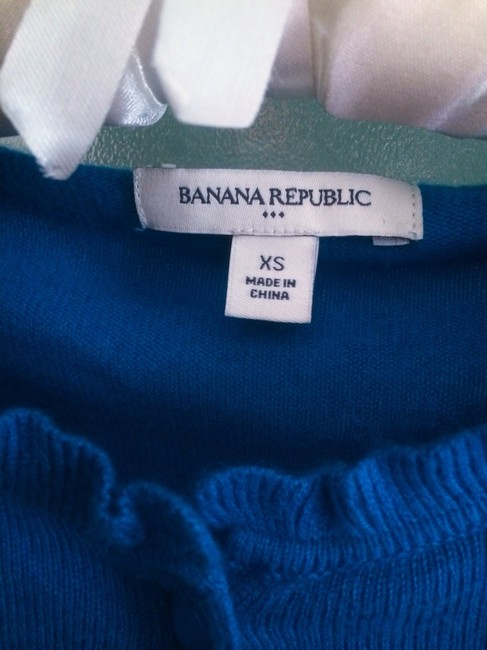 Banana Republic Cardigan Ruffle Sweater