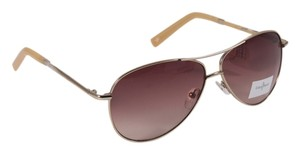 Cole Haan Cole Haan Aviator Gold Sunglasses C669