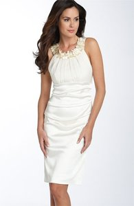 Suzi Chin for Maggy Boutique Ivory Wedding Dress Size 6 (S)