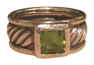 David Yurman David Yurman Ring Band with Peridot Stone