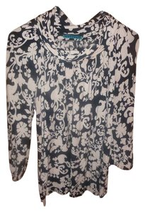Velvet by Graham & Spencer Anthropologie Top black, cream