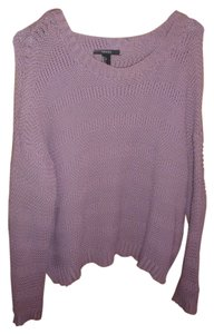 Forever 21 Lavender Chunky Sweater