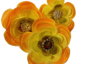 Tipper Gold - Dog Collar Celebration Accent Flower