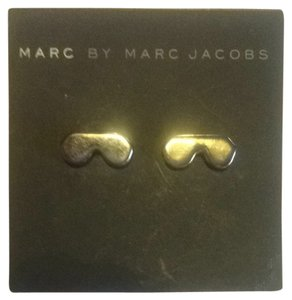Marc Jacobs Marc By Marc Jacobs Gunmetal Earrings