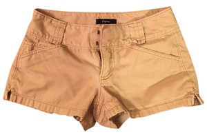 Express Mini/Short Shorts Tan