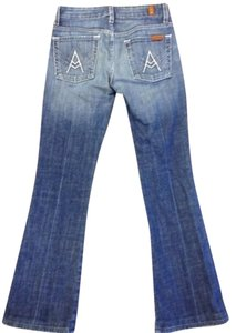 Seven Jeans Flare Leg Jeans-Light Wash
