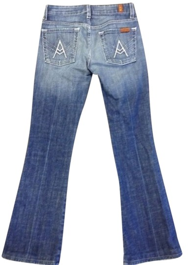 7 For All Mankind Flare Leg Jeans - 67% Off Retail well-wreapped