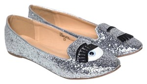 Chase & Chloe Silver Flats